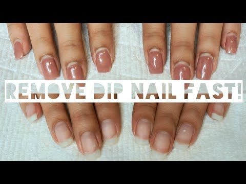 Here S How To Remove Dip Nails At Home Without A Trip To The Salon Follow These Easy Diy Steps To Remove Dip Powder In 2020 Dipped Nails Dip Powder Nails Powder Nails