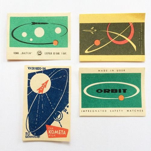 The Space Race. 1960s stamps from the USSR