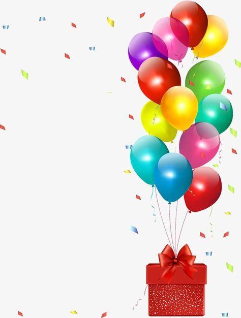 Baloes de aniversario em png