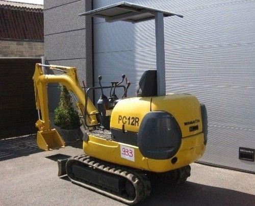 Komatsu Pc12r 8 Pc15r 8 Hydraulic Excavator Service Repair Workshop Manual Download Service Manuals Club Hydraulic Excavator Repair Manuals Komatsu