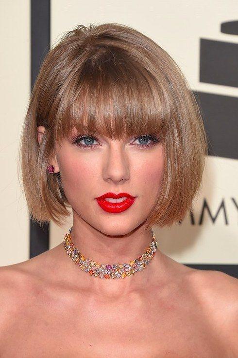 Taylor Swift Acaba De Dar Kesha 250 000 Taylor Swift Haircut Short Bob Hairstyles Bobs Haircuts
