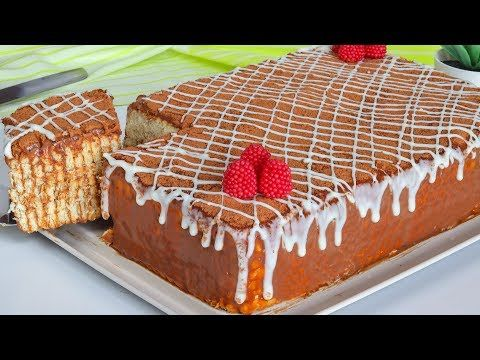 الكيكة الباردة في 10 دقايق بدون كريمة خفق بدون بيض بدون زبدة بدون زيت وبمكونات كلها من بيتك Youtube Tart Recipes Desserts Cake