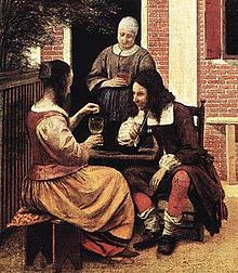 With the end of the Thirty Years' War, the fashions of the 1650s and early 1660s imitated the new peaceful and more relaxed feeling in Europe. The military boots gave way to shoes, and a mania for baggy breeches, short coats, and hundreds of yards of ribbon set the style.