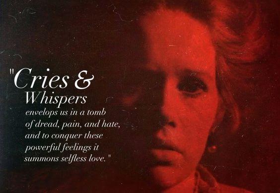 Cries and Whispers (Ingmar Bergman, 1972). Roger Ebert Great Movies