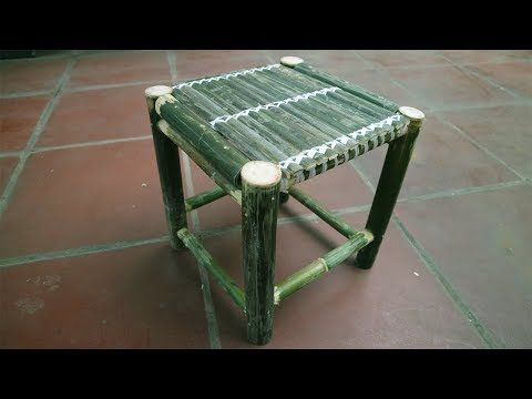How To Make Bamboo Chair Beautiful