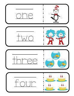 006 Preschool Printables Dr. Seuss Dr. Suess Day