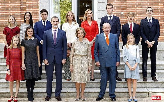 02/11-2018 Emeritus Queen Sofia of Spain celebrates her 80th birthday today. On November 2, 2018, Spanish Royal Family celebrated 80th birthday of Queen Sofia, with a special lunch at Zarzuela Palace. King Juan Carlos, King Felipe, Queen Letizia, Princess Leonor, Infanta Sofia, Infanta Elena, Felipe de Marichalar, Victoria de Marichalar, Infanta Cristina, Juan, Pabln, Irene and Miguel Urdangarín attended the lunch.