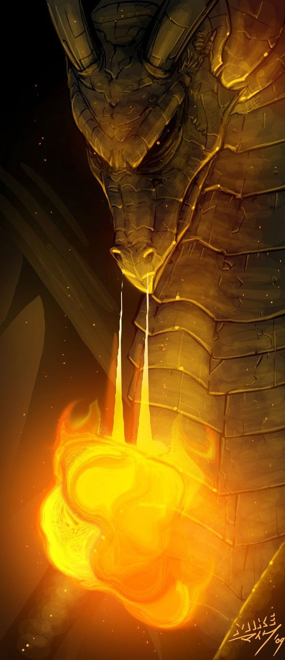El dragón dorado purifica tu camino