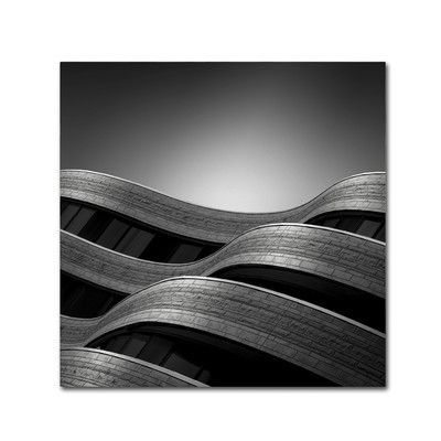 """Trademark Art """"The Urban Sea"""" by Dave MacVicar Photographic Print on Wrapped Canvas Size:"""