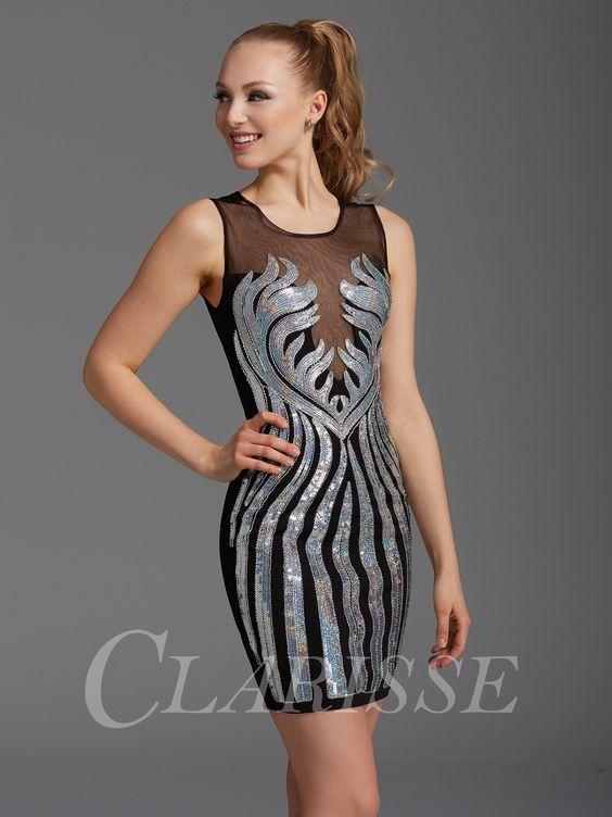 Zizi Iridescent Homecoming Dress 358 - Cocktails- Cheap homecoming ...