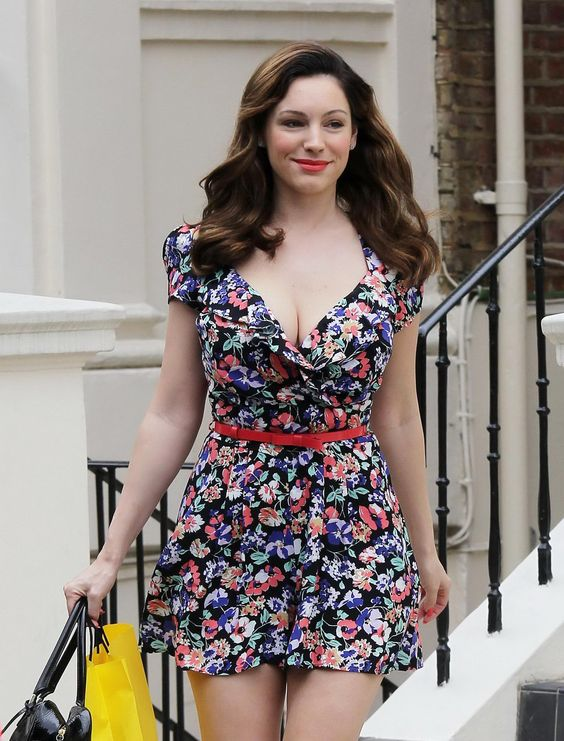 Celebs with my body shape - Kelly Brook find more women fashion ideas on www.misspool.com