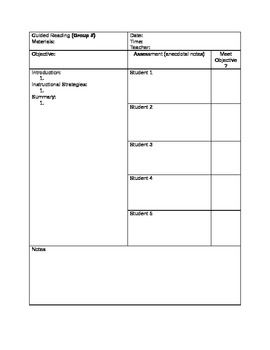 anecdotal assessment template - lesson plan templates small groups and anecdotal notes on