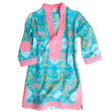 Kara Dress in Turquoise