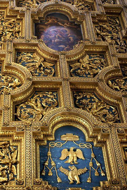 Rom, Viale di Trastevere, San Crisogono, Kassettendecke (coffered ceiling) | Flickr - Photo Sharing!