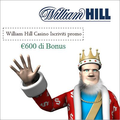 william hill casino promotions