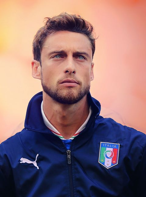 Claudio Marchisio, his look should be a crime.