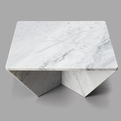 To celebrate New York Design Week, the Cooper-Hewitt National Design Museum commissioned Joe Doucet to create a collection of flat pack marble tables.