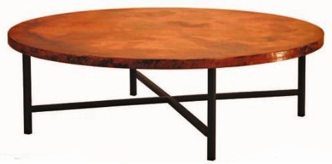Copper Coffee Table Hammered Copper And Copenhagen On Pinterest