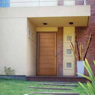 Puertas con laterales ladrillos de vidrio buscar con for Ladrillos decorativos para exteriores