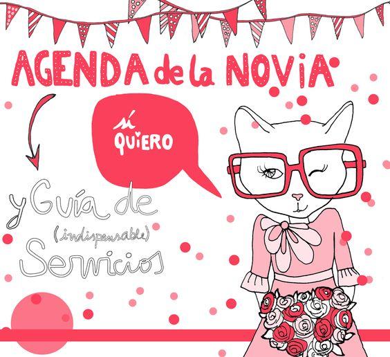 Agenda de la Novia Ilustration by Robertita Superstar www.robertita.com.ar