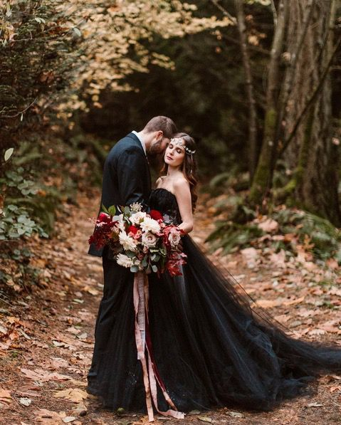 The gothic fairytale princess - CosmopolitanUK #weddingdress