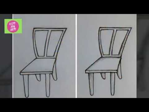 How To Pencil Shade A Chair To Get 3d Effect Easy Pencil Shading For Kids Youtube Pencil Shading Drawing For Kids Joy Art