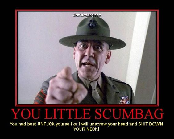 R Lee Ermey Full Metal Jacket Quotes In the top ten greates...