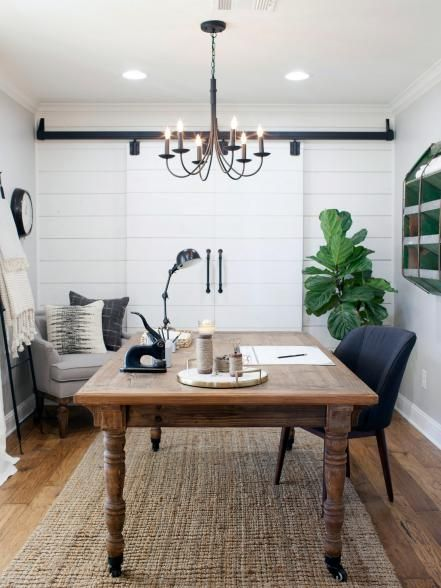 Fixer upper tackling the beast offices magnolia for Fixer upper does the furniture stay