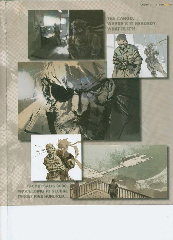 Yoji Shinkawa - The Art of Metal Gear Solid: Peace Walker ~ Synteza historii i sztuki