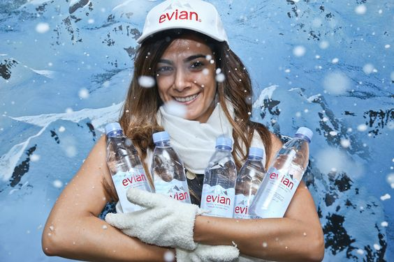 #evian Brings the French Alps to the United Arab Emirates Real Sampling Experience Dubai & Abu Dhabi Hotspots - June 2014 #liveyoung #dubai