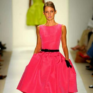 Carrie's Oscar de la Renta dress love it!