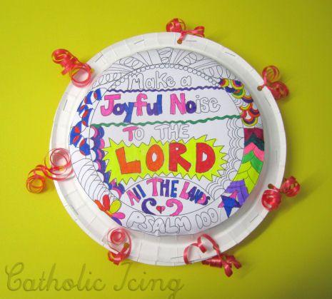 a joyful noise preschool make a joyful noise craft printable kingdom 239