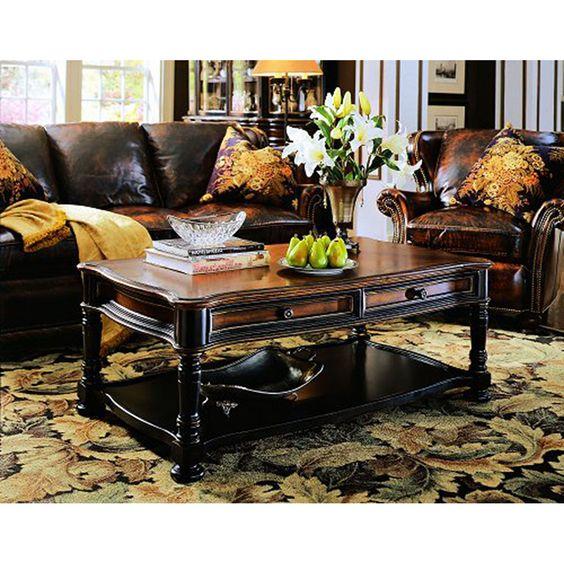 Hooker Furniture Preston Ridge Rectangular Cocktail Table 864-80-110