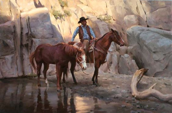 Artist: Tom Browning - Title: Box Canyon: