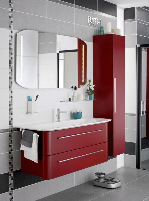 Appr ciez la modernit des meubles de salle de bain mod le - Modele salle de bain design ...
