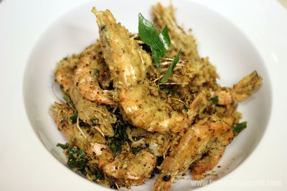 FEAST to the world: Cereal Killer - Singapore Cereal Prawns Or Nestum ...