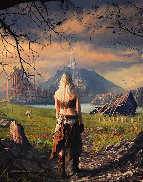 The Return: Amazing Daenerys Stormborn Cover Art... | Game of Thrones Fan Art: