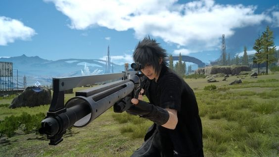 Final Fantasy XV: le armi da fuoco nei nuovi screenshots