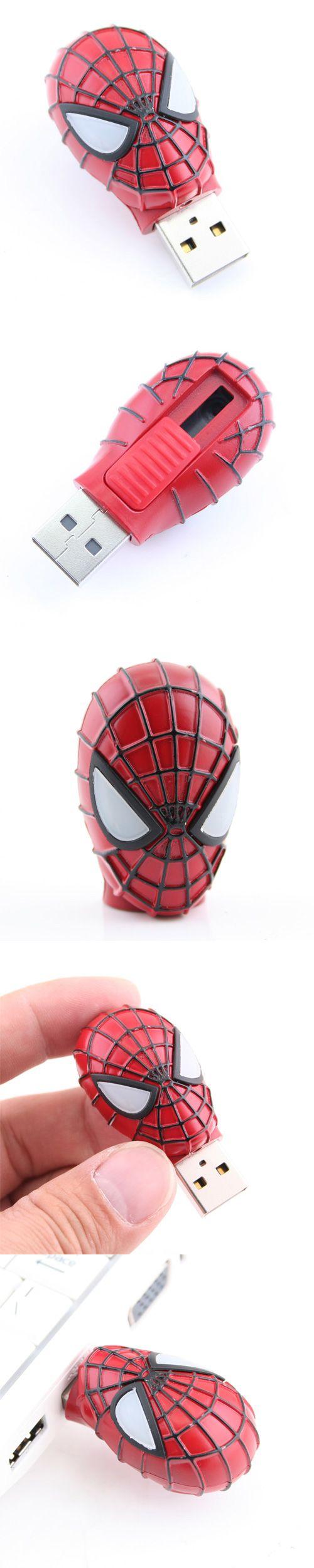 Spider-Man 2 USB Flash Drive http://www.usbgeek.com/products/spiderman2-usb-flash-drive
