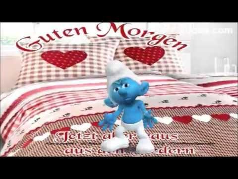 Guten Morgen☕ lass dich nicht hetzen komm gut in den Tag Lustiger Schlumpf, Zoobe, Animation - YouTube