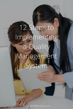 Successful organizations have figured out that customer satisfaction has a direct impact on the bottom line. Creating an environment which supports a quality culture requires a structured, systematic process.  Following are steps to implementing a quality management system that will help to bring the process full circle. Let's begin by defining the word quality. Quality …