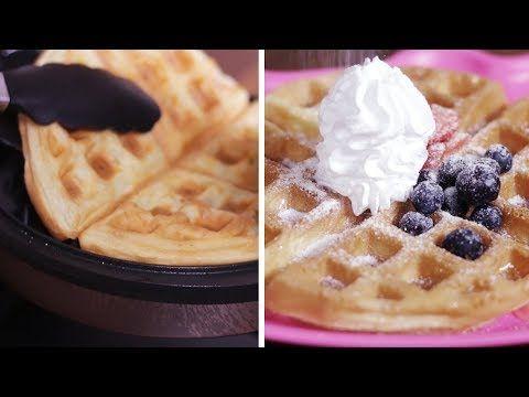 Resepi Waffle Rangup Dan Lembut Youtube Resep Makanan Waffle Resep