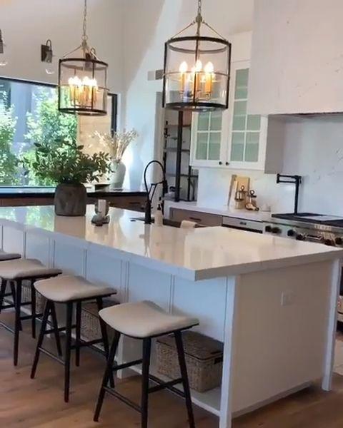 25 Beautiful Shabby Stylish Kitchen Design Concepts #design #ideas #kitchen #shabby #stunning