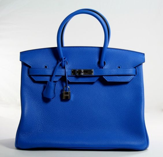 best hermes replica website - Hermes Blue Hydra Togo 35cm Birkin Bag ? STYLABLSHOP ...