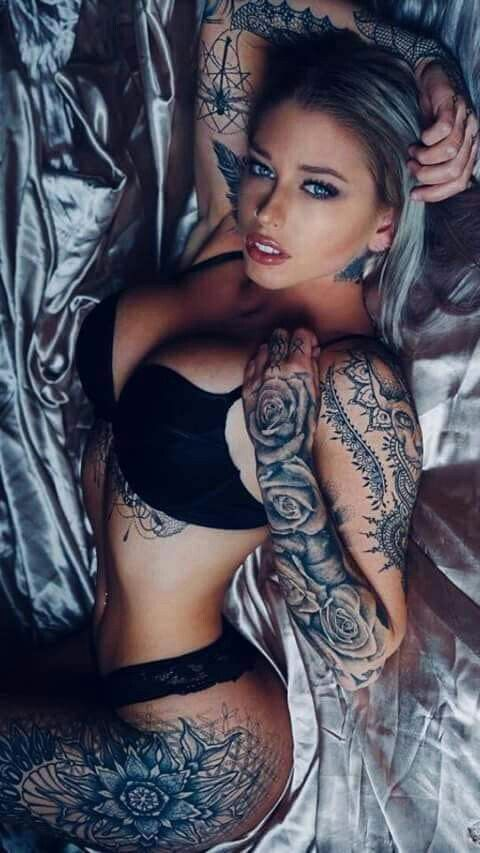 Tattoo girl sexy