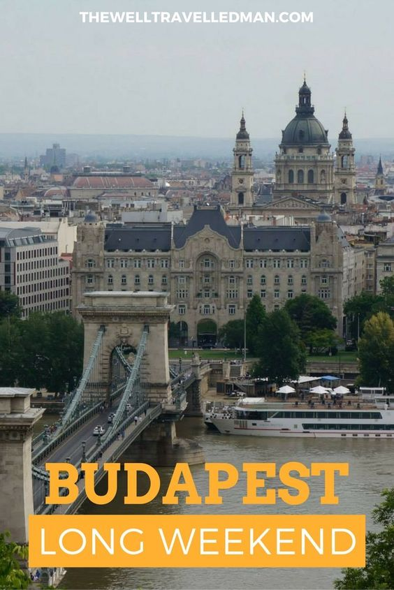 The incredible Budapest, Hungary! Check out more at www.thewelltravelledman.com: