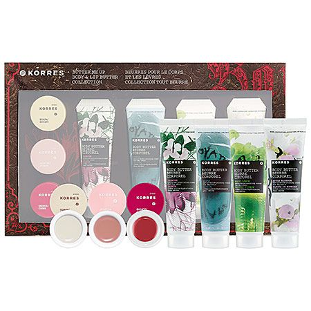 Korres Butter Me Up Body Lip Butter Collection