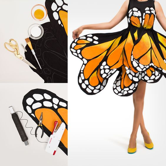 Butterfly dress                                                                                                                                                      More: