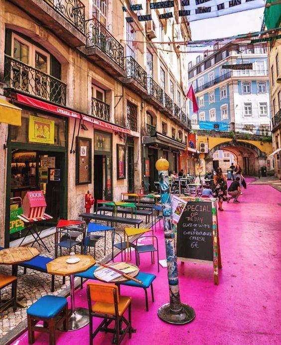 Did You Know That Pink Street Aka Rua Nova Do Carvalho Is Home