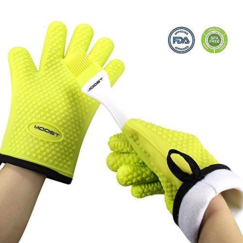 Silicone Gloves Heat Resistant Pot Holders Cookingaccessoriesideas Silicone Oven Mitt Oven Glove Oven Mitts